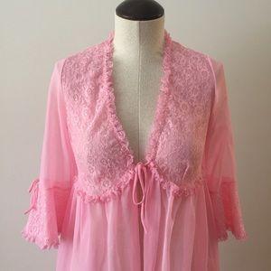 Vintage Pink Negligee